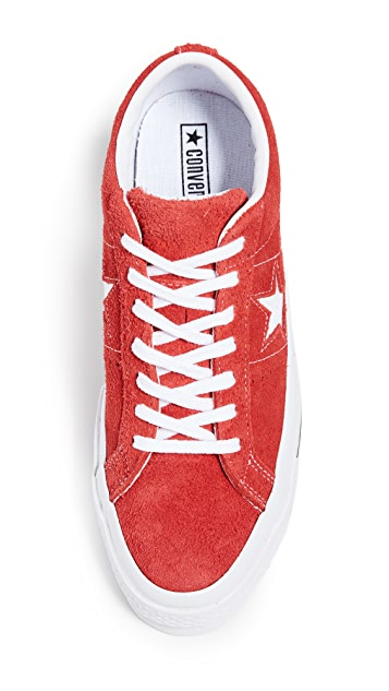 Converse One Star Suede Low Top Sneakers