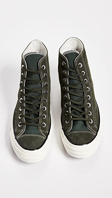 4370780fa17a ... Converse Chuck Taylor 70 Base Camp Suede High Top Sneakers ...