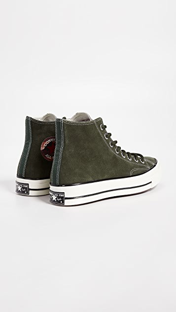 443acc4fd7e ... Converse Chuck Taylor 70 Base Camp Suede High Top Sneakers ...