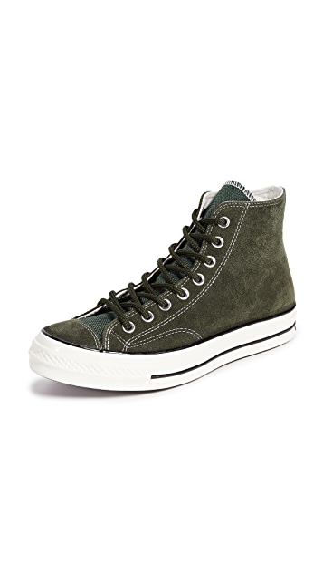 Converse Chuck Taylor 70 Base Camp Suede High Top Sneakers