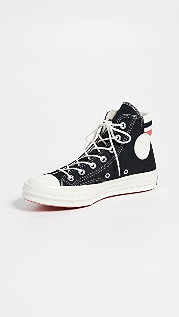 Chuck Retro 70 High Top Stripe Sneakers hdtQrsC