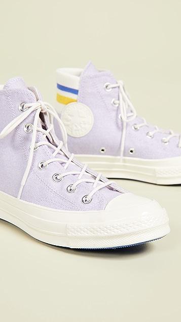 Converse Chuck 70 Retro Stripe High Top Sneakers