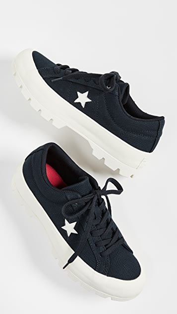 Converse One Star Lugged Ox 运动鞋
