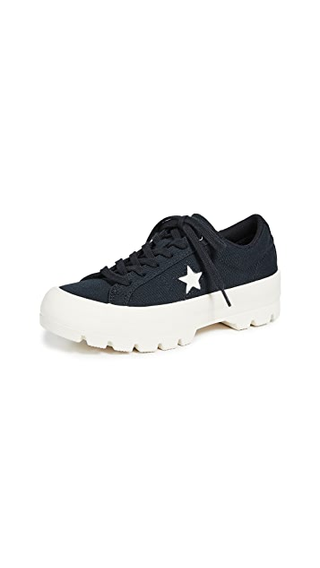 Converse One Star Lugged Ox Sneakers