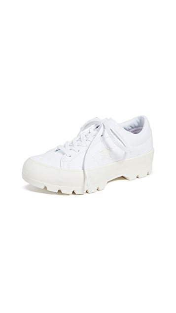 One Star Lugged Ox Sneakers