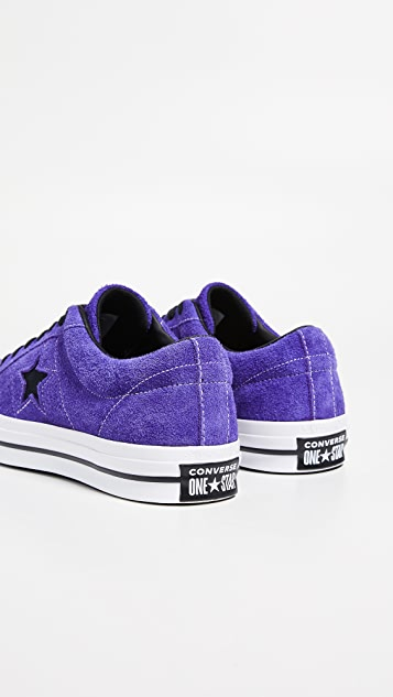 Converse Dark Star Vintage Suede Oxford Sneakers