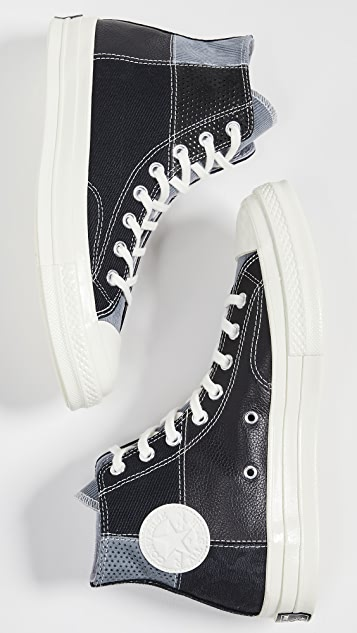 Converse CT70 Mixed Material Hi-Top Sneakers