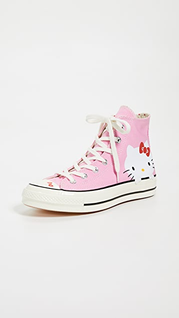 Converse Hello Kitty High Top Sneakers