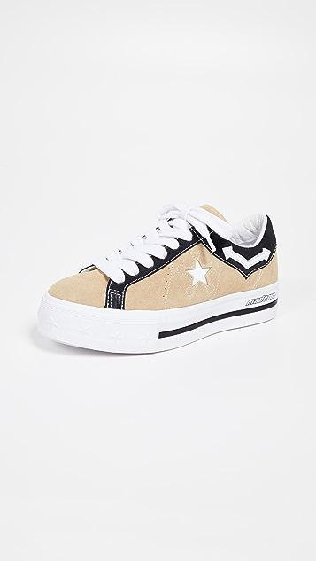 Converse x Mademe Platform Sneakers