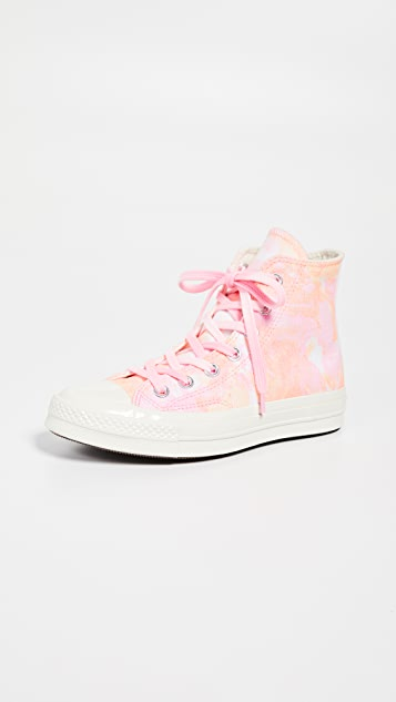 Converse Chuck 70 High Top Beach Dye Sneakers