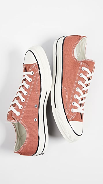 Converse Chuck 70 Washed Canvas Oxfords