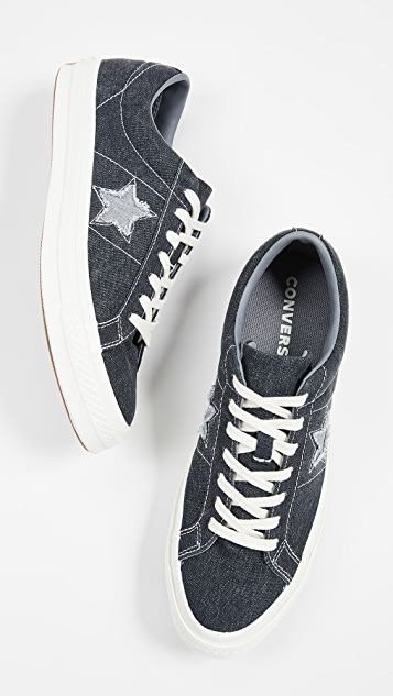 37268fca16ac Converse One Star Sunbaked Oxfords