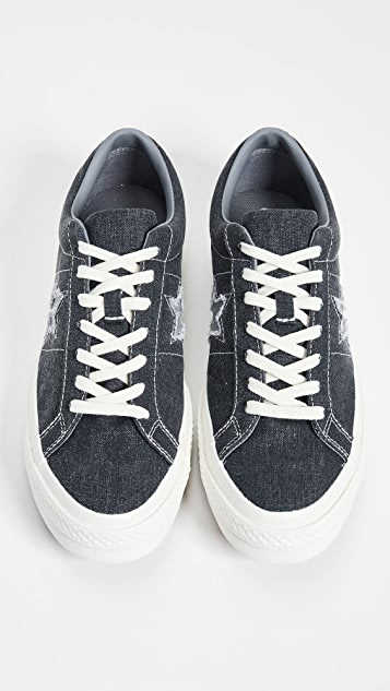 Converse One Star Sunbaked Oxfords