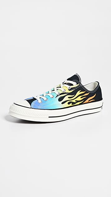 Converse Chuck 70 Archive Flame Print Oxfords