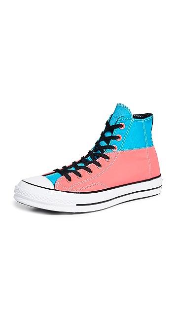 Converse Chuck 70 Neon Hi Top Sneakers
