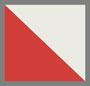 Egret/Habanero Red