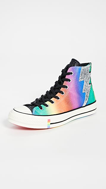 Converse Rainbow Pride Chuck Taylor 70s High Top Sneakers