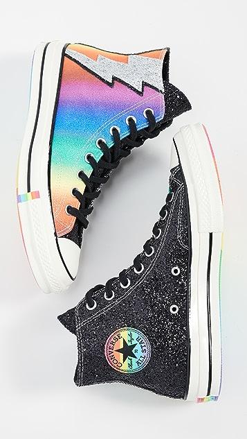 Converse Rainbow Pride Chuck Taylor 70s High Top Sneakers