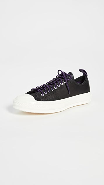 Converse Chuck 70 Fleece Leather Ox Sneakers