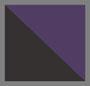 黑色/黄色/紫色/米白色
