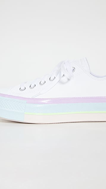 Converse Chuck Taylor All Star Lift Glossy Midsole Ox Sneakers