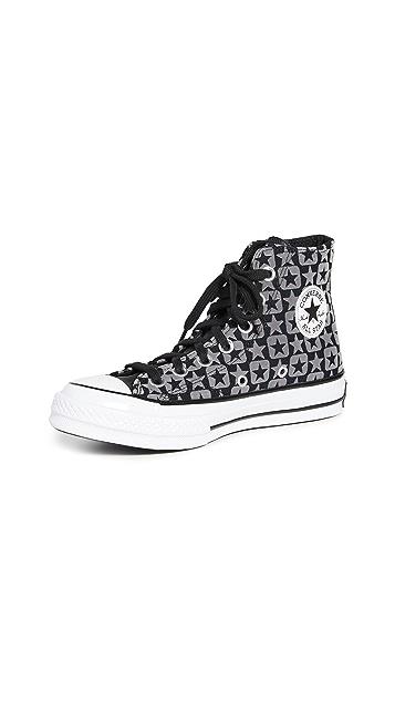 Converse Chuck 70 植绒帆布运动鞋