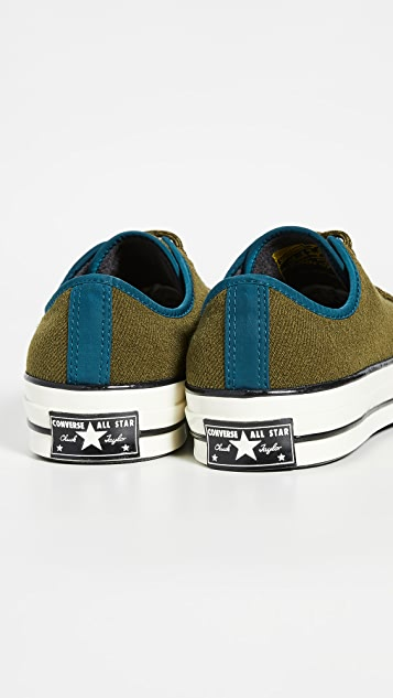 Converse Chuck 70 Archival Terry Low Top Sneakers