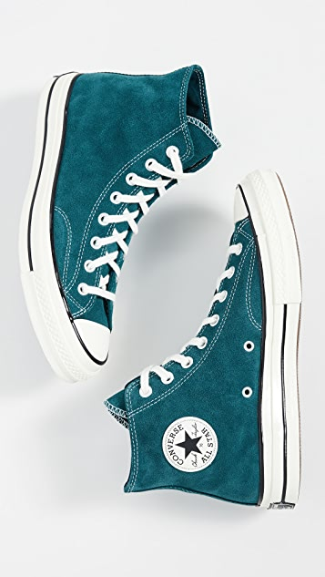 Converse Chuck 70 Suede High Top Sneakers