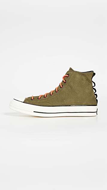 Converse Chuck 70 SP Nubuck Leather High Top Sneakers