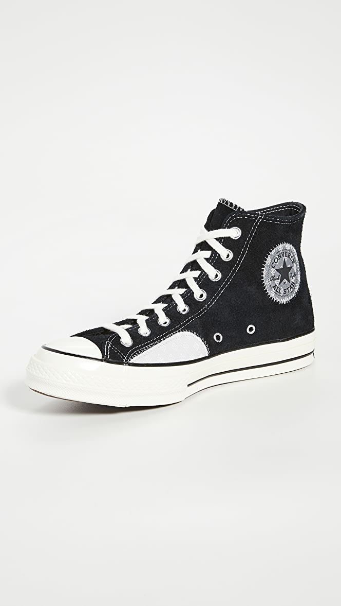 Converse Chuck 70 Twisted Prep Patchwork High Top Sneakers