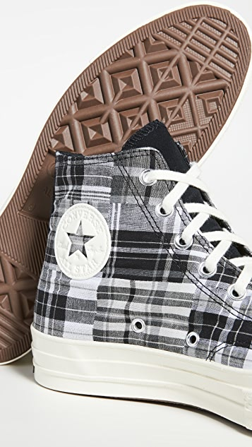 Converse Chuck 70 Twisted Prep High Top Sneakers