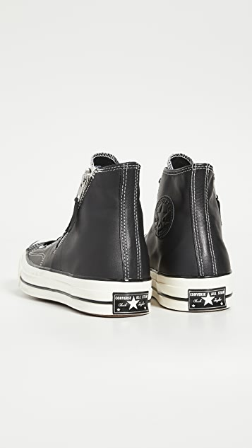 Converse Chuck 70 Side Zip-High Top Sneakers