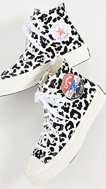 Converse Chuck 70 Logo Play High Top Sneakers