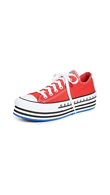 Converse Chuck Taylor All Star Lift Archival Canvas Ox 运动鞋