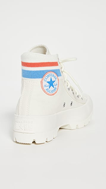 Converse Chuck Taylor All Star Lugged Varsity High Top Sneakers