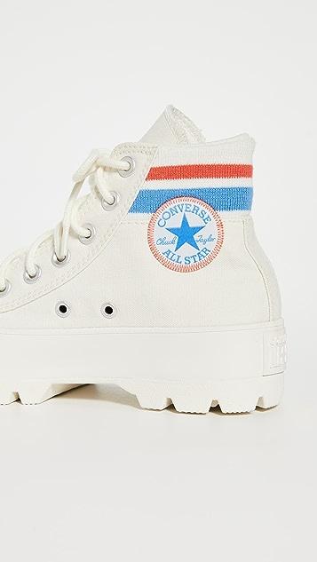 Converse Chuck Taylor All Star 沟纹学院风格高帮运动鞋