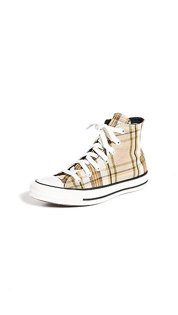 Converse Chuck Taylor Plaid All Star 高帮运动鞋