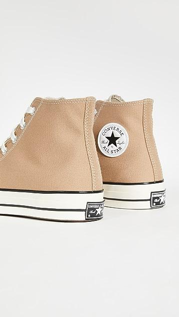 Converse Chuck 70 Canvas High Top Sneakers