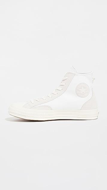 Converse Chuck 70 Canvas Silk Suede Sneakers