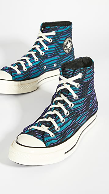 Converse Chuck 70 Wavy Knit High Top Sneakers