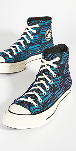 Converse - Chuck 70 Wavy Knit High Top Sneakers