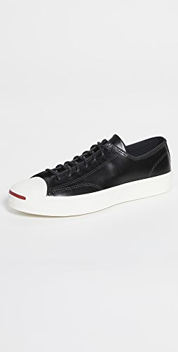 Converse - Premium Leather Jack Purcell Sneakers