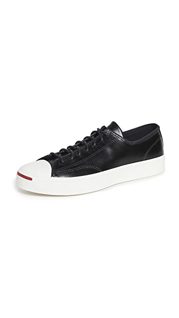 Converse Premium Leather Jack Purcell Sneakers