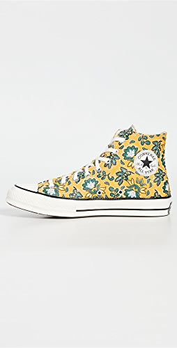 Converse - Culture Print Chuck 70 Hi Sneakers