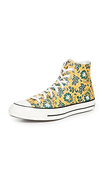 Converse Culture Print Chuck 70 Hi Sneakers