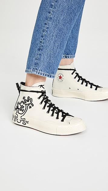 Converse x Keith Haring Chuck 70 High Top Sneakes