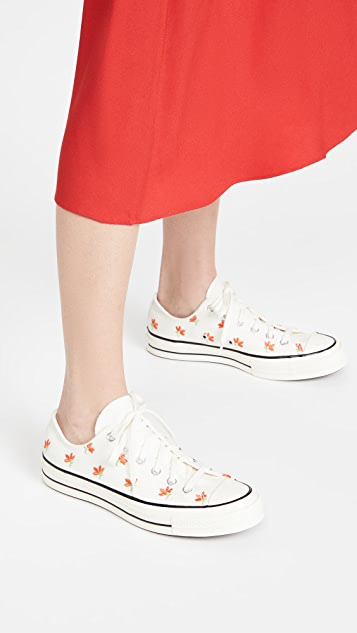 Converse Chuck 70 Embroidered Garden Party Sneakers