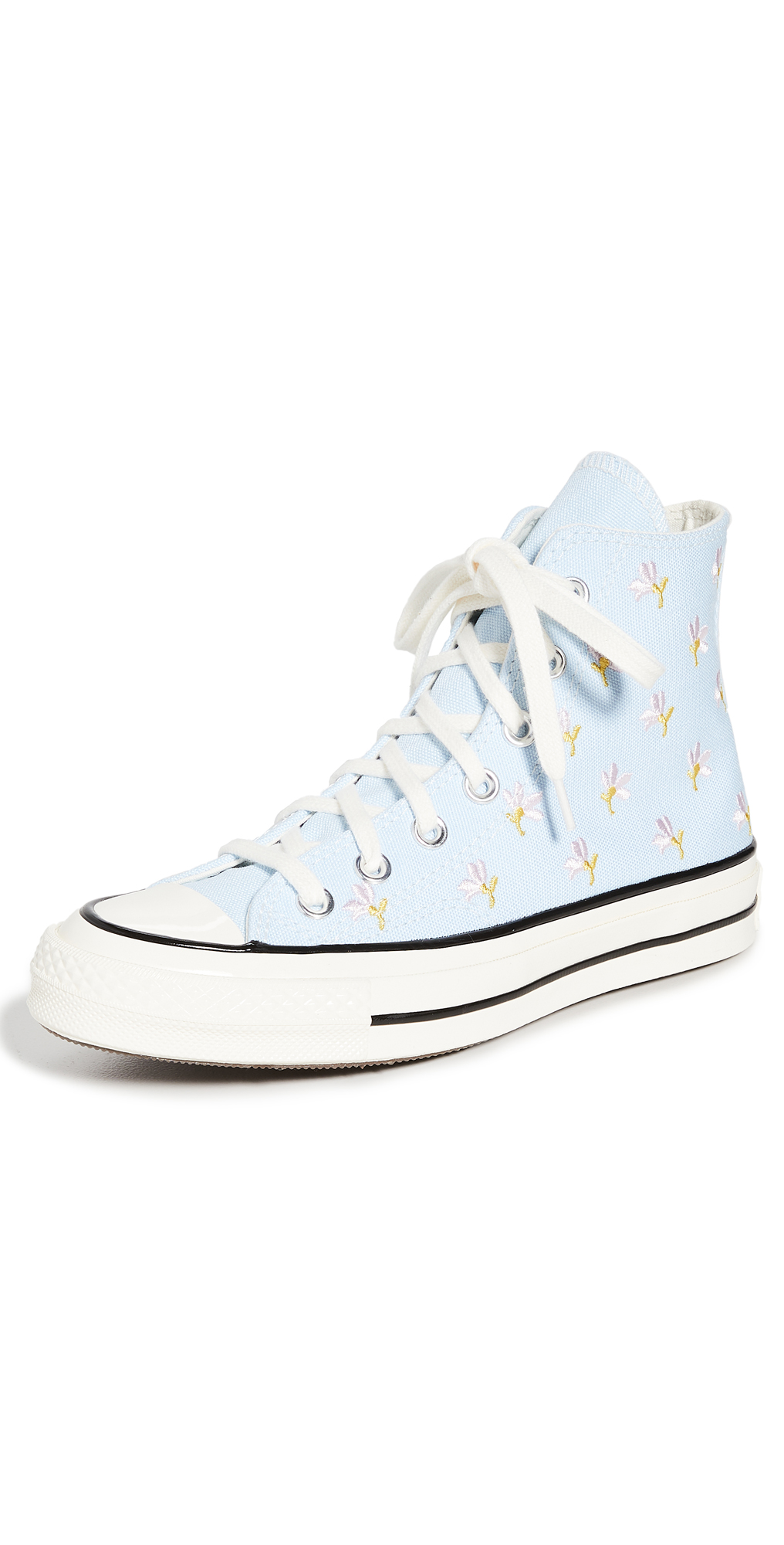 Converse Chuck 70 Embroidered Garden Party High Top Sneakers