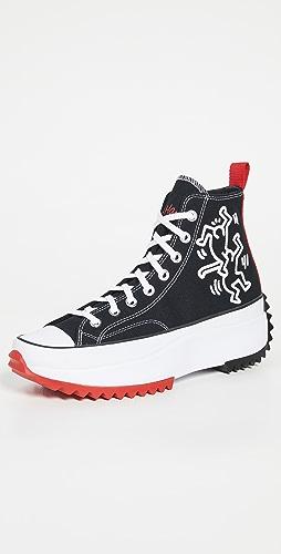 Converse - x Keith Haring Run Star Hike High Top Sneakers