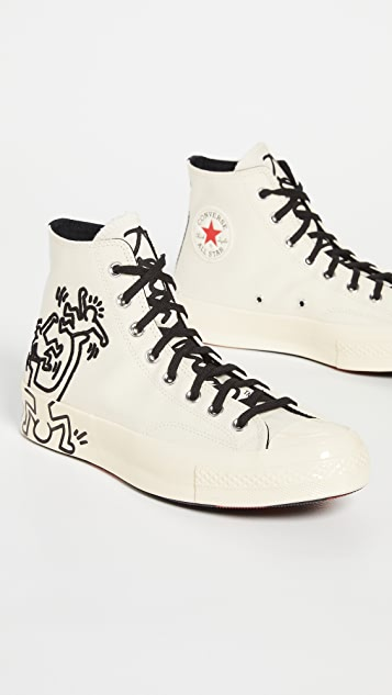 Converse x Keith Haring Chuck 70 High Top Sneakers